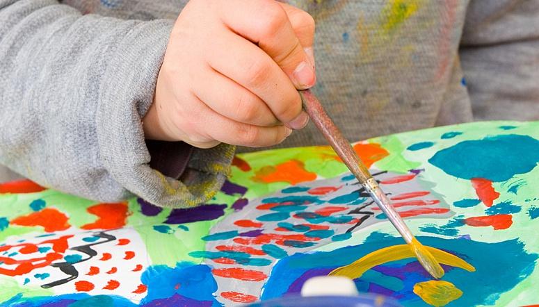 Мастер класс рисовать с детьми
